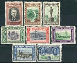 S.Rhodesie, michel 55/62, x