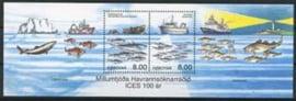Faroer, michel blok 14, xx