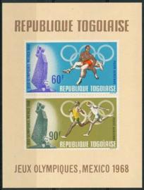Togo, michel blok 35, xx