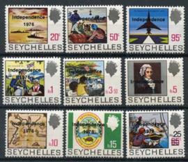 Seychelles, michel 366/74, xx