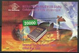 Indonesie, zbl. blok 174, xx