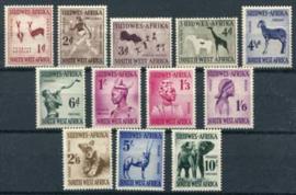 Z.W.Afrika, michel 279/90, x