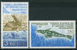 Antarctica Fr., michel 274/75, xx