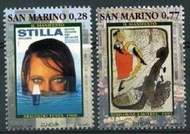 San Marino , michel 2085/86 , xx
