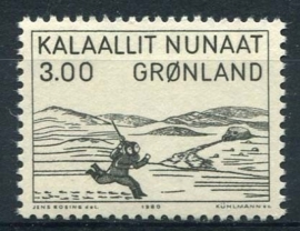 Groenland, michel 124, xx