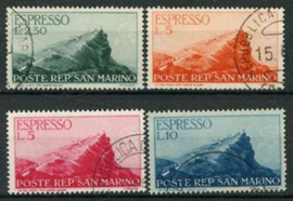S.Marino, michel 335/38, o