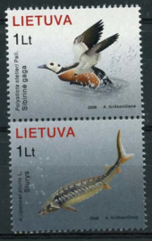 Litouwen, michel 915/16, xx