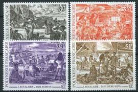 Polynesie, michel 632/35, xx