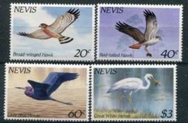 Nevis, michel 248/51, xx