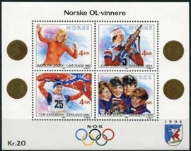 Noorwegen, michel blok 12, xx