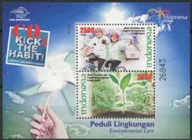 Indonesie, zbl. blok 261, xx