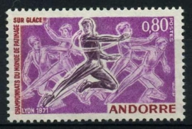 Andorra Fr., michel 229, xx