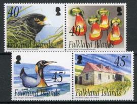 Falkland, michel 890/93, xx