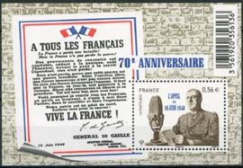 Frankrijk, michel blok 131 , xx