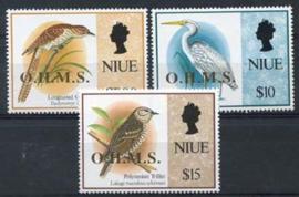 Niue, michel dfienst 28/30, xx
