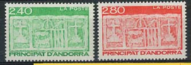 Andorra Fr., michel 456/57, xx