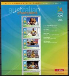 Australie, michel kb 2573/77, xx
