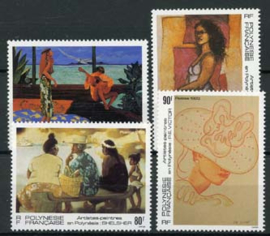 Polynesie, michel 645/48, xx