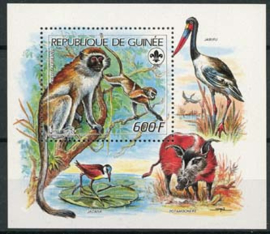 Guinee Rep., michel blok 295, xx