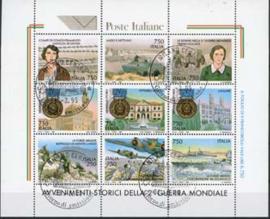 Italie, michel kb 2368/76, o