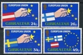Gibraltar , michel 706/09 , xx