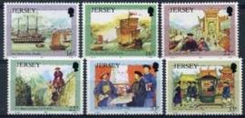 Jersey, michel 568/73, xx