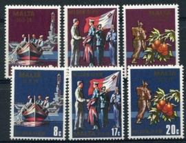 Malta, michel 588/93, xx