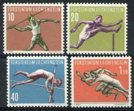 Liechtenstein, michel 342/45, xx