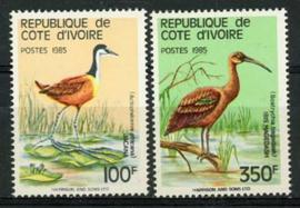 Ivoorkust, michel 848 B/C, xx