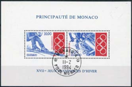 Monaco, michel blok 61, o