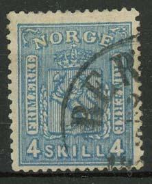 Noorwegen, michel 14, o