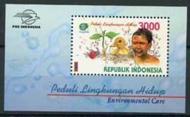 Indonesie, zbl. blok 167, xx