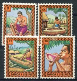 Samoa, michel 320/23, xx