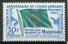 Mauretanie, michel 194, xx