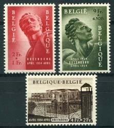 Belgie, obp 943/45, xx