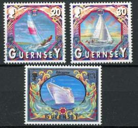 Guernsey, michel 855/57, xx