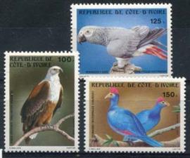 Ivoorkust, michel 783/85, xx