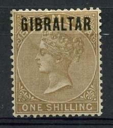 Gibraltar , michel 10 , (x)