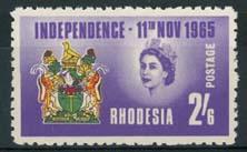 Rhodesie, michel 8, xx