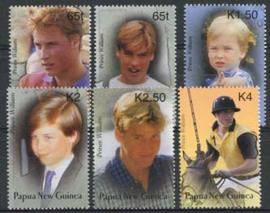 Papua N. Guinea, michel 989/94, xx