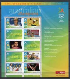 Australie, michel kb 2560/67, xx