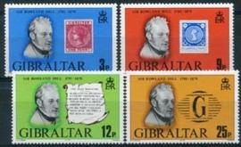 Gibraltar, michel 387/90, xx
