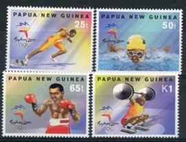 Papua N.Guinea, michel 865/68, xx