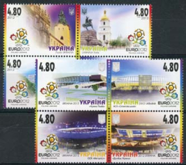 Ukraine, michel 1236/43, xx