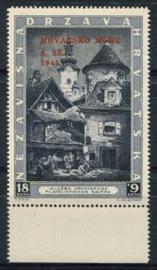 Kroatie, michel 117, xx