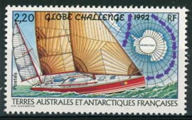 Antarctica Fr., michel 296, xx
