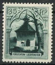 Liechtenstein, michel 100, x