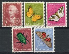 Zwitserland, michel 648/52, xx