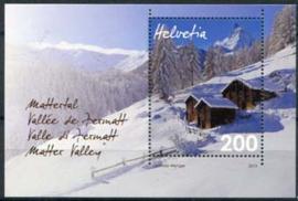 Zwitserland, michel blok 54, xx