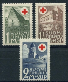 Finland, michel 164/66, x